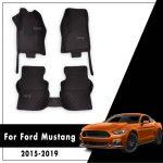 Encuentra el top 5 en alfombrillas baratas para el Ford Mustang ❤️