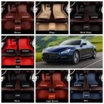 El top 5 de esterillas baratas para el Maserati Levante ✔